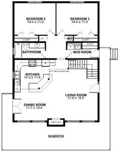 contemporary style house plan    bed  bath homes   house plans  frame