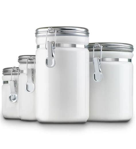 white kitchen canisters white kitchen canisters free shipping