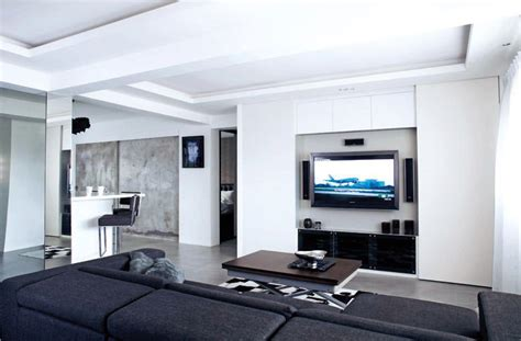 pictures marble console table 10 elegantly clean cut tv console and feature wall design