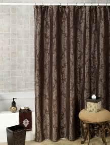 Aqua Chevron Shower Curtain