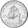 East Caribbean States 25 Cents KM 38 Prices & Values   NGC