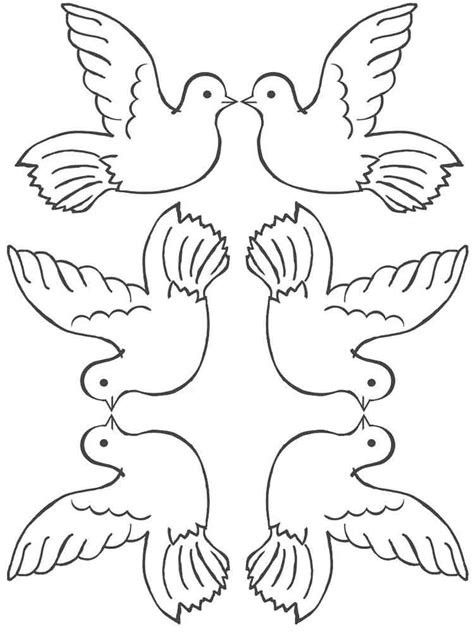 Dove Coloring Page Dove Coloring Pages And Print Dove Coloring Pages