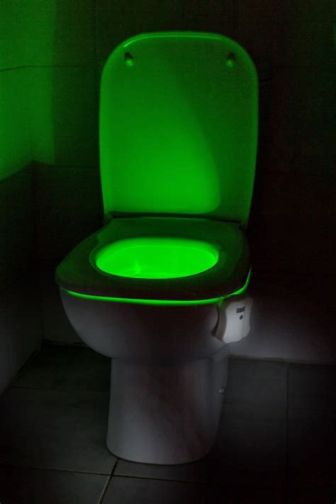 Toilet Light by Auraglow Led Motion Activated Toilet Bowl Light