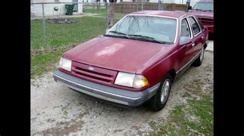 1986 Ford Tempo Diesel 2.0 Mazda RF 5 Speed = 50 + MPG ...