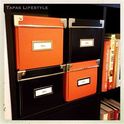 cd box ikea organize now 12 week challenge archives