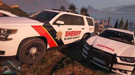 Gta 5 Blaine County Sheriff Pack #4 Mod
