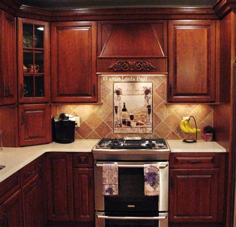 kitchen backsplash wall tiles wine country kitchen