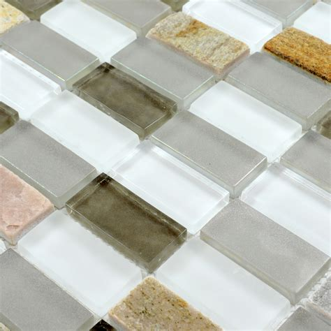 rock tile sheets glass mosaic tile sheets joint with marble