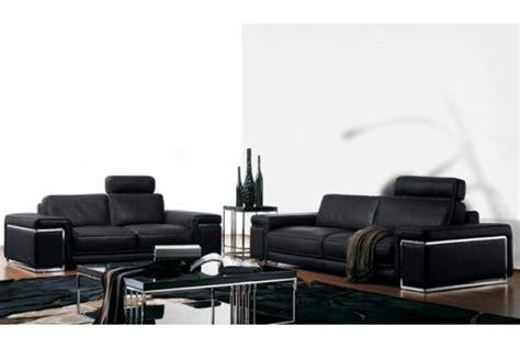 sofactory canapé canapé 2 places en cuir rome design sur sofactory