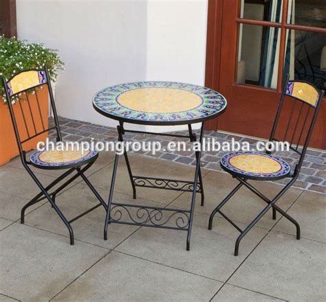 mosaic bistro table and chairs garden furniture mosaic table and chair mosaic bistro