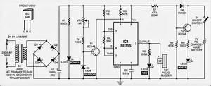 Simple Mains Box Heat Monitor Circuit Diagram