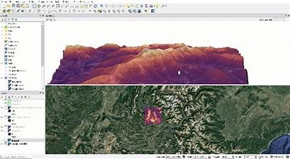 Qgis 3d Map Medium Visualisation Maps Diaries