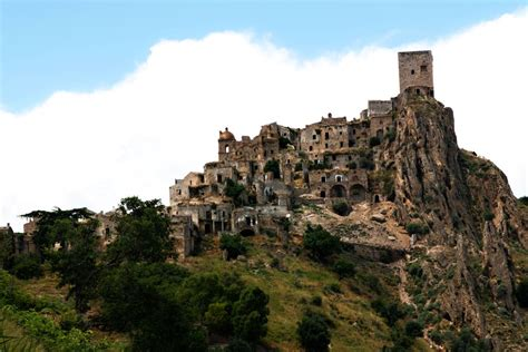 unusual travel destinations in italy abandoned villages