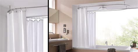 duschvorhangstange badewanne u form duschvorhangstange aus edelstahl cns f 252 r badewanne dusche