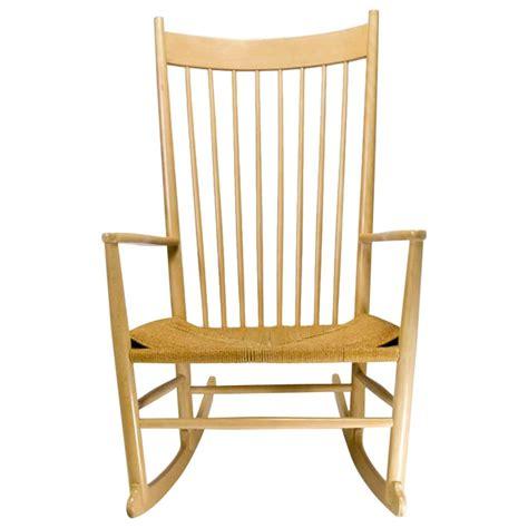 vintage modern rocking chair by hans j wegner at