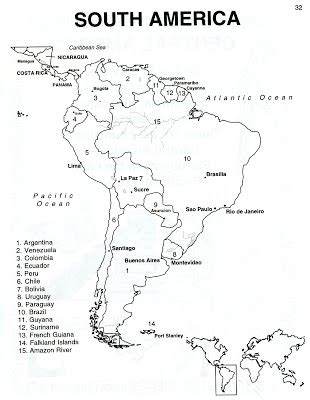black and white south six south america we are the