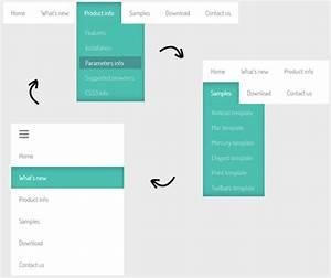 drop down menu html template - html5 drop down menu template free template design