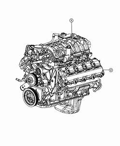 Dodge Ram 1500 Engine  Long Block  Remanufactured   Police