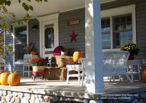fun fall decorating ideas   front porch