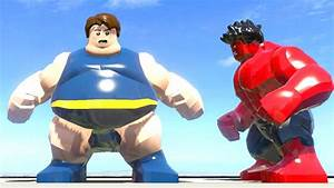 Blob vs Red Hulk - LEGO Marvel Super Heroes - YouTube