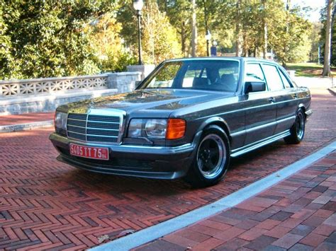 Show Me Awesome W126 Mercedes Benz S Class Sedans