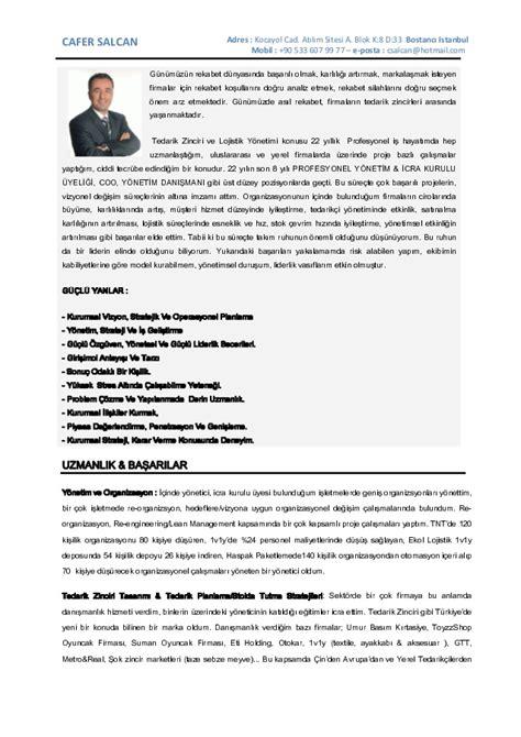 cs turkce cv 2016