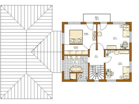 Grundriss Treppe Mittig by Stadtvilla Atlanta Grundriss Obergeschoss Haus Haus