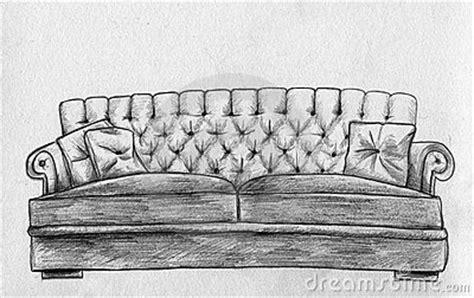 sofa pencil sketch stock images image