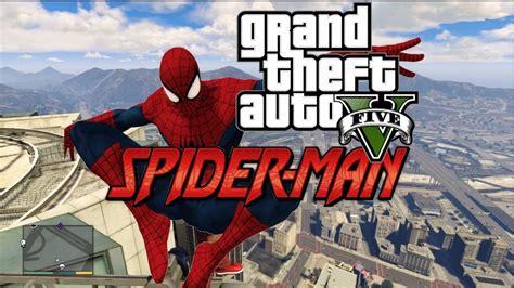 gta  pc mods spiderman  superhero mod gameplay revealed
