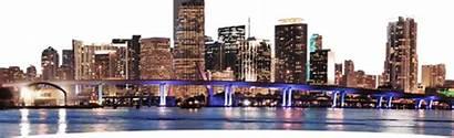 Cityscape Skyline Miami Popular Night Stickers Community