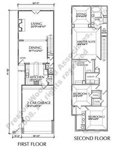 row home floor plans townhouse plan d6050 2321