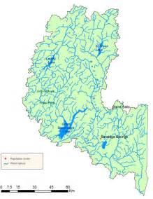 Hudson River Watershed Map