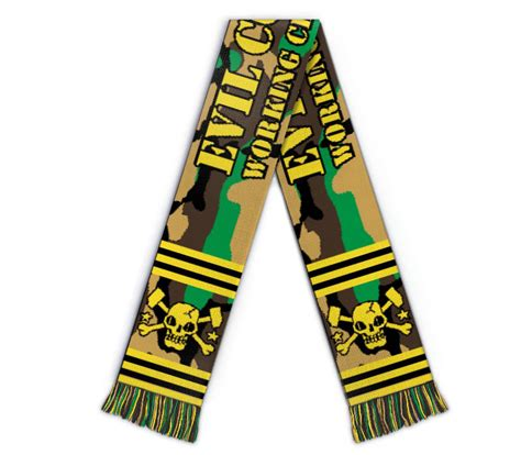 Rebel Sound Music  Evil Conduct Football Scarf