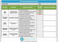 Leader Standard Work Template Image collections Template