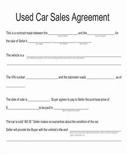 sample car sales contract 12 examples in word pdf With private party car sale contract template