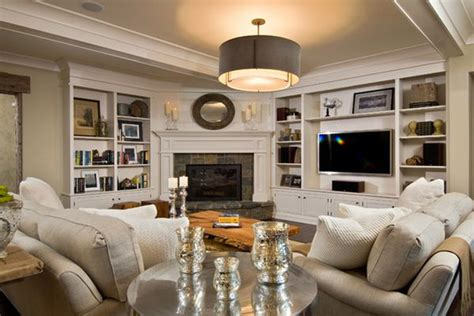 Living Room Setup With Corner Tv by 100 Fireplace Design Ideas For A Warm Home During Winter