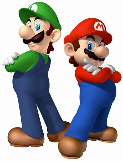 Mario Clip Clipart Super Bros Brothers Characters