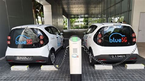Singapore Launches Electric Car-sharing Service