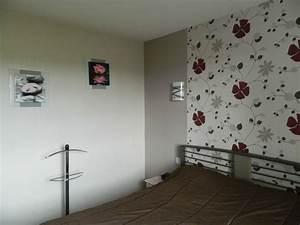 Tapisserie 4 Murs : charmant papier peint 4 murs pour salon et papier peint ~ Zukunftsfamilie.com Idées de Décoration