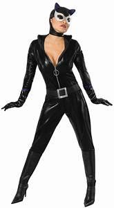 Catwoman Kostm Fr Damen Jumpsuit Schwarz Kostme Fr