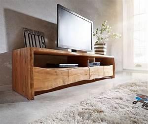 Tv Board Holz Massiv : delife fernsehtisch live edge akazie natur 190 cm otto ~ Bigdaddyawards.com Haus und Dekorationen