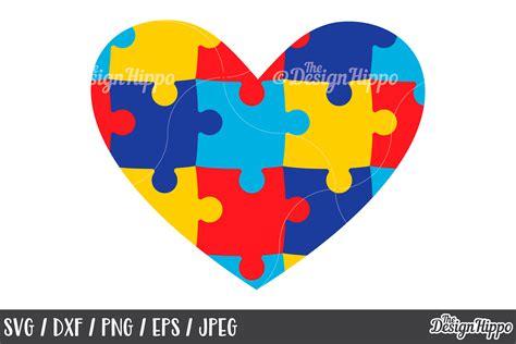 Free svg, love svg,svg for cricut,cross svg,free cricut designs,free cricut designs,free silhouette designs! Autism Heart, Puzzle Pieces, SVG DXF PNG Cricut Cut Files