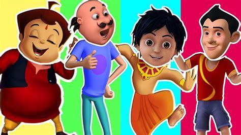 Wrong Head Funny Motu Gattu Chhota Bheem Shiva Cartoon In