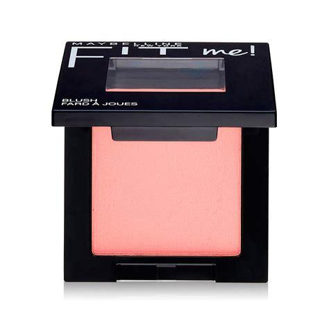 rubor maybelline fit powder blush paragon cosmetics