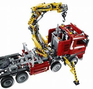 Lego Technic Camion : lego technic 8258 camion con gru costruzioni lego ~ Nature-et-papiers.com Idées de Décoration