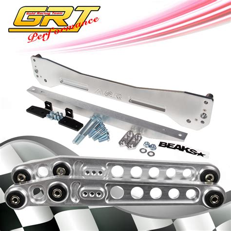 si鑒e bar buy tansky aluminum neochrome jdm rear suspension subframe brace lower tie bar honda civic rsx si ep3 es dc5 tk asrbe es 7c pivot car