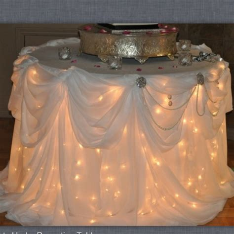lights under cake table 17 best images about table lighting on event lighting and on back