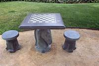 outdoor chess table Concrete Chess table for parks, schools, and other outdoor ...