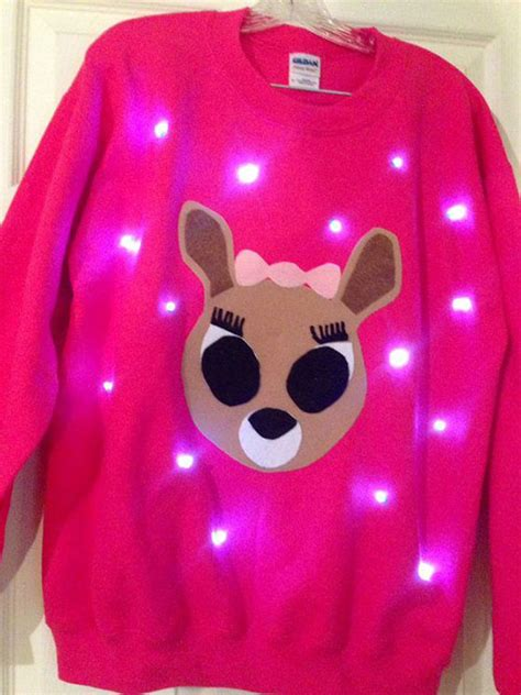 lighted sweater ideas for