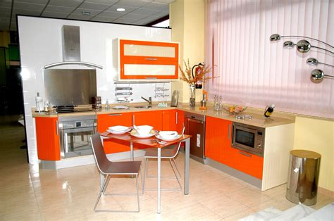 orange accessories for kitchen interior decorating of orange kitchen ideas for interior 3757